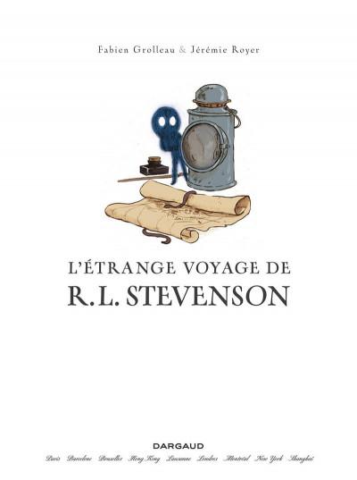 Page 1 L'étrange voyage de R. L. Stevenson