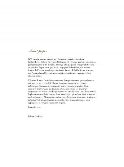 Page 3 L'étrange voyage de R. L. Stevenson