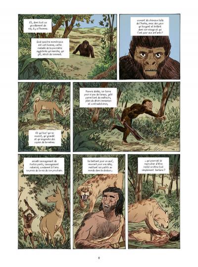 Page 8 L'étrange voyage de R. L. Stevenson