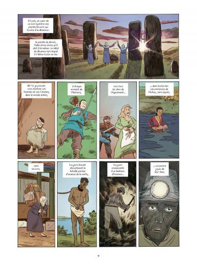 Page 9 L'étrange voyage de R. L. Stevenson