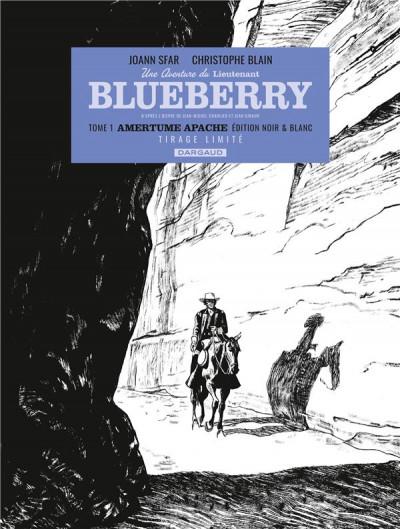 Couverture Blueberry par ... - Lieutenant Blueberry tome 1 (éd. n&b)