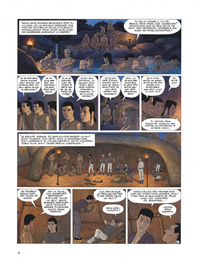 Page 8 Retour sur Aldebaran tome 3