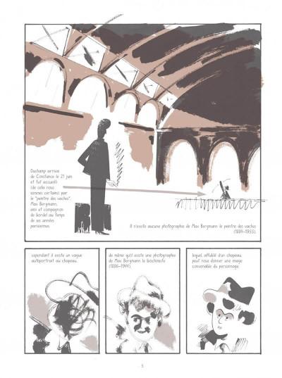Page 5 Les aventures de Munich dans Marcel Duchamp