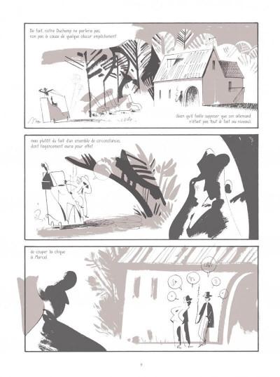 Page 9 Les aventures de Munich dans Marcel Duchamp