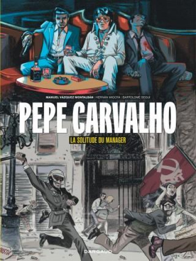 Couverture Pepe Carvalho tome  2