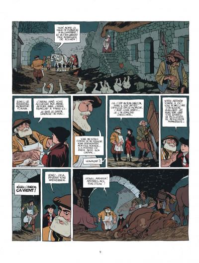Page 9 Le marquis d'Anaon - intégrale