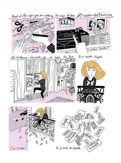 Page 1 Nowhere girl - Beatles-addict, le récit d'une phobie scolaire