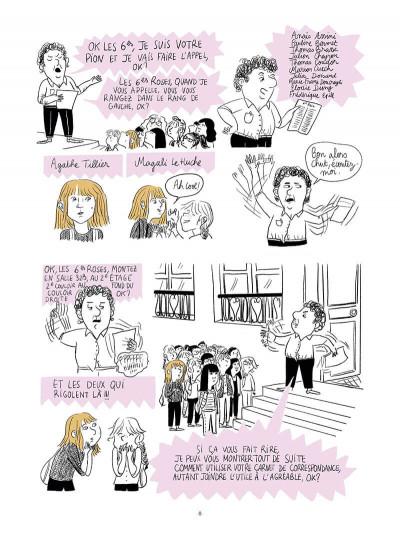 Page 8 Nowhere girl - Beatles-addict, le récit d'une phobie scolaire