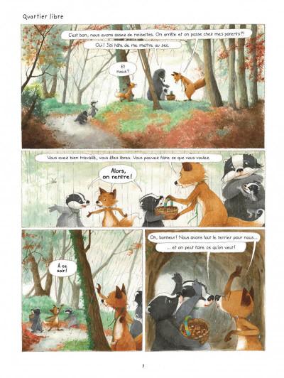 Page 3 La famille Blaireau-Renarde tome 3
