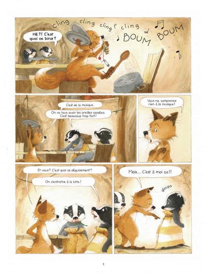 Page 5 La famille Blaireau-Renarde tome 3