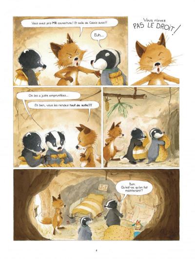 Page 6 La famille Blaireau-Renarde tome 3