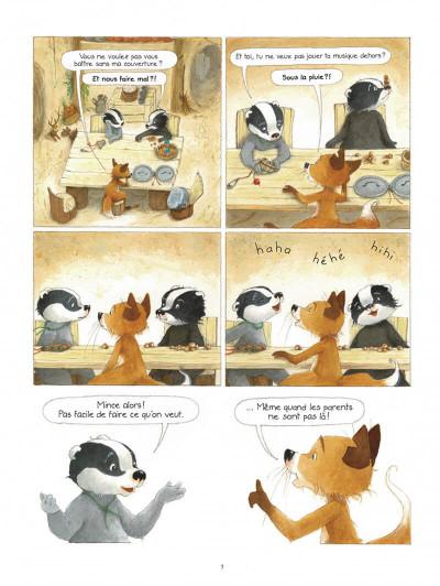 Page 7 La famille Blaireau-Renarde tome 3