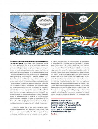 Page 8 Histoires du vendée globe