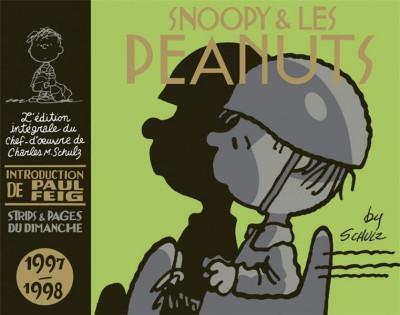 Couverture Snoopy et les Peanuts - intégrale tome 24
