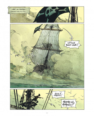 Page 4 Raven - éd. luxe tome 1