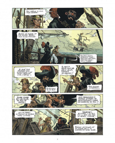 Page 5 Raven - éd. luxe tome 1