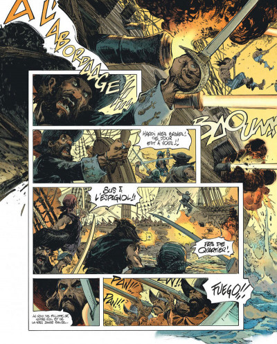Page 6 Raven - éd. luxe tome 1