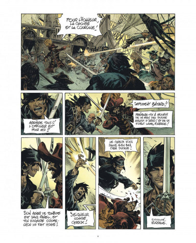 Page 8 Raven - éd. luxe tome 1
