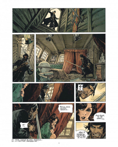 Page 9 Raven - éd. luxe tome 1