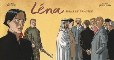Couverture Léna (version strip) tome 3