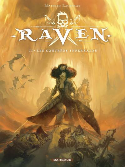 Couverture Raven tome 2 + ex-libris offert