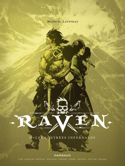Page 4 Raven tome 2 + ex-libris offert