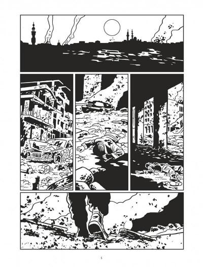 Page 5 L'homme qui tua Chris Kyle - éd. noir et blanc