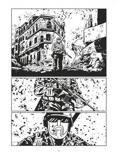 Page 6 L'homme qui tua Chris Kyle - éd. noir et blanc