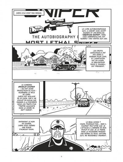 Page 9 L'homme qui tua Chris Kyle - éd. noir et blanc