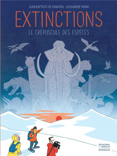 Couverture Extinctions, le crépuscule des espèces