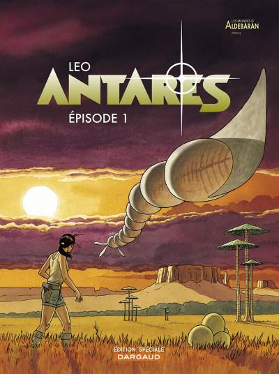 Couverture Antares tome 1 (petit prix)