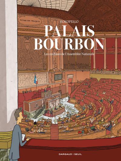 Couverture Palais bourbon, les coulisses