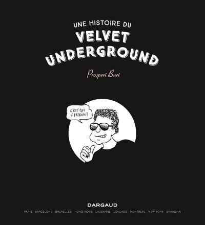 Page 1 Une histoire du velvet underground