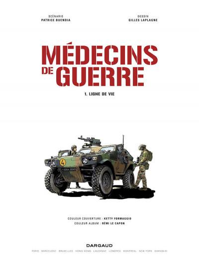 Page 2 Médecins de guerre tome 1