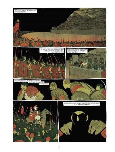 Page 5 Pour l'empire - intégrale