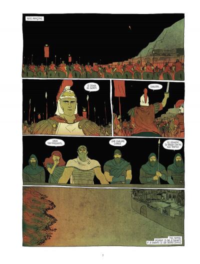 Page 7 Pour l'empire - intégrale