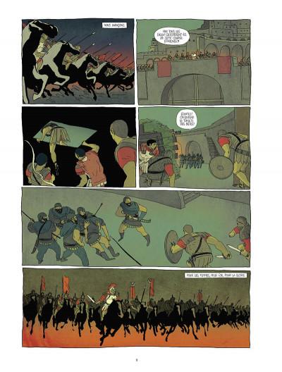 Page 8 Pour l'empire - intégrale