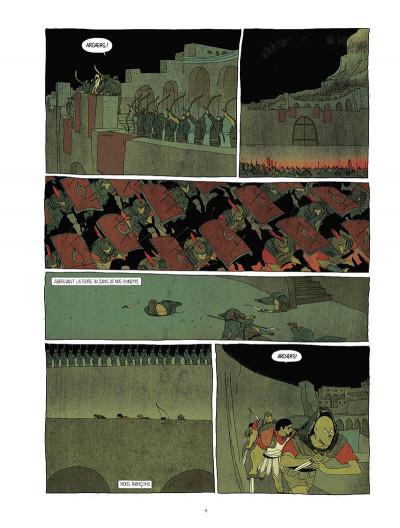 Page 9 Pour l'empire - intégrale