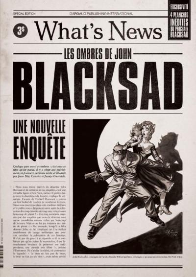 Couverture Blacksad - hors série - What's new ?