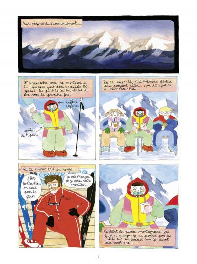 Page 3 Dans l'ombre du mont blanc