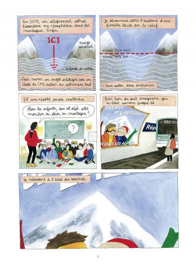 Page 7 Dans l'ombre du mont blanc
