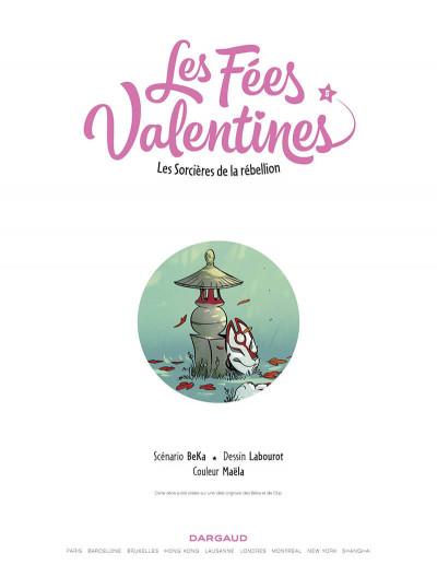 Page 1 Les fées valentines tome 5