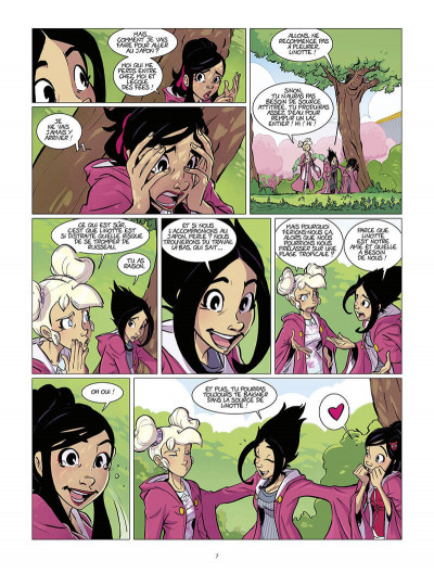 Page 7 Les fées valentines tome 5