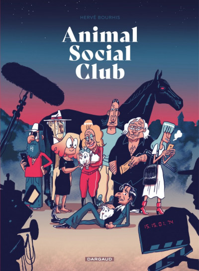 Couverture Animal social club