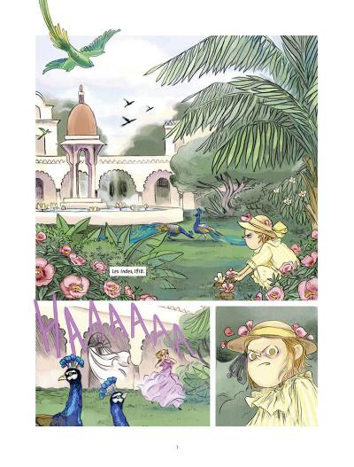 Page 3 Le jardin secret tome 1
