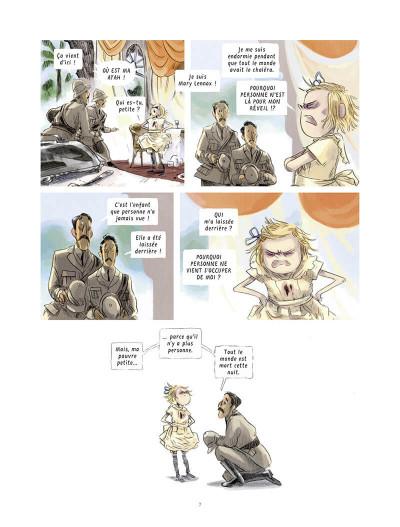 Page 7 Le jardin secret tome 1