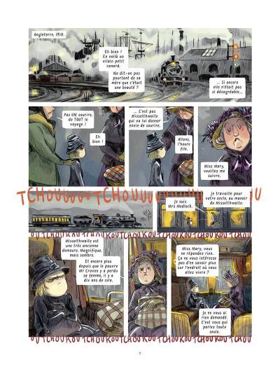 Page 9 Le jardin secret tome 1
