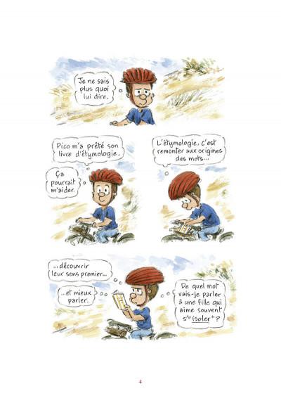 Page 5 L'étymologie avec Pico Bogue tome 3