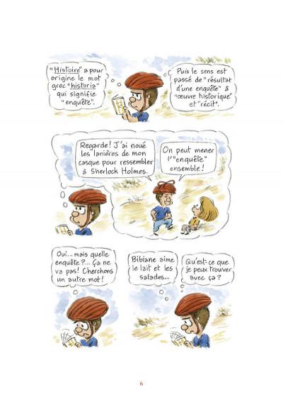 Page 7 L'étymologie avec Pico Bogue tome 3