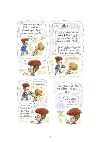 Page 8 L'étymologie avec Pico Bogue tome 3